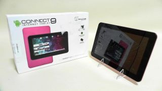 Visual Land Connect 9 Internet Tablet Pink Touchscreen Android Camera 2ACN 2 828063410907