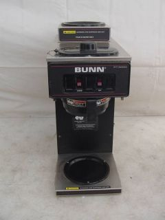Bunn VP 17 Commercial Double Warmer Coffee Brewer Maker