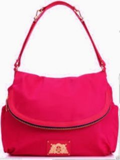 Juicy Couture Hot Pink Malibu Nylon Crossbody Baby Bag $248
