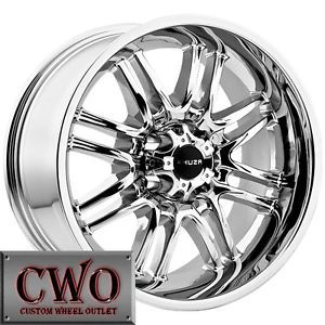 17 Chrome Akuza Ricco Wheels Rims 5x114 3 5 Lug Jeep Wrangler Ranger Explorer