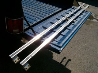 73 87 Chevy GMC Truck Bed Rails Box Rails 1975 Beau James 73 80 81 87