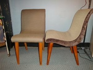 Conant Ball Modern Mates Pair of Chairs Art Deco Mid Century