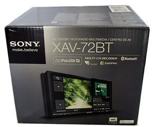 Sony XAV 72BT Car in Dash DVD Player w LCD Monitor Digital Player