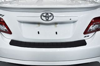 2007 2011 Factory Toyota Camry Rear Bumper Protector in Black