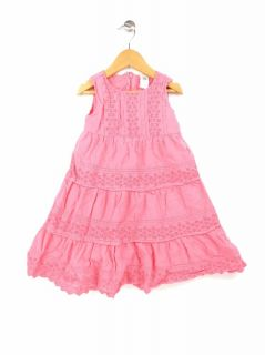 Darling Baby Gap Pink Dress Girls Size 5 Ref NN 147