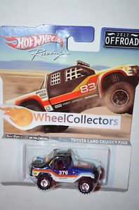 Toyota Land Cruiser FJ40 Off Road Racing 2012 Hot Wheels