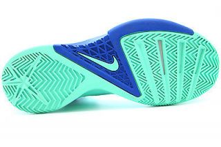 615896 301 Mens Nike Zoom Hyperfuse 2013 Green Glow Game Royal Basketball Shoe