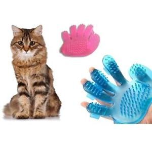 Dog Cat Rabbit Pet Grooming Brush Fur Massage Glove Brush Comb Clean Small Pet