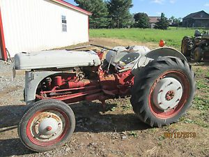 Ford Tractor Parts 9 N Equipment