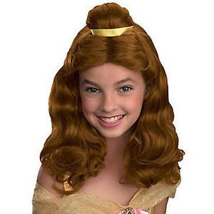 Disney Princess Beauty The Beast Belle Child Costume Wig Disguise 90362