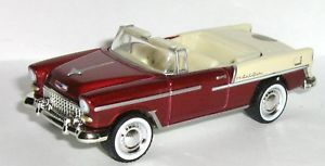 50th Anniversary 1955 55 Chevy Bel Air Convertible Rubber Tire Muscle Car