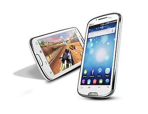 "Blu Studio D510 5 3"" Dual Sim Android GSM 3G US White CPU 800MHz Unlocked Phone"