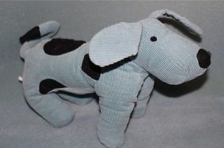 Pottery Barn Kids Blue Corduroy Dog Plush Toy Doll