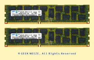 Server RAM 8GB 2X 4GB PC3L 10600R ECC Reg 2Rx4 DDR3L 1333 Memory Fit Dell HP IBM