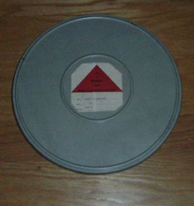 Vintage Lancaster PA 16mm Film Documentary Triangle Films Large Reel