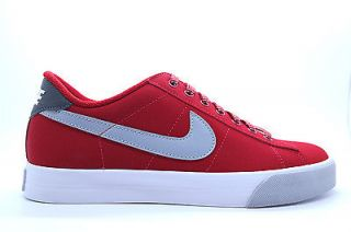 536942 601 Mens Nike Sweet Classic Leather Winter Gym Red Wolf Grey Sneakers