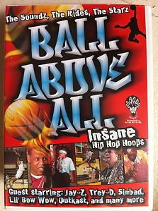 Jay Z Lil Bow WOW Ball Above All RARE Hip Hop Basketball Documentary UK DVD 5060018487106