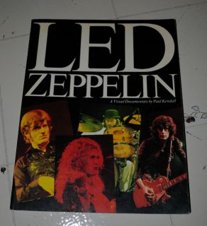 "LED Zeppelin ""A Visual Documentary"" by Paul Kendall"