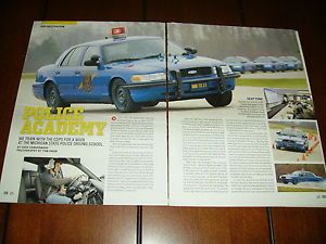 Michigan State Police Driving School Original 2007 Article Highway Patrol