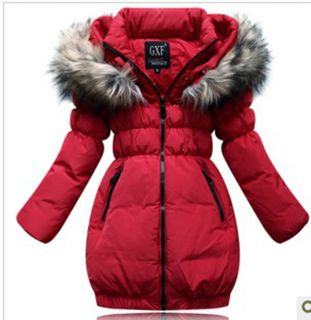 Children Baby Girls Clothing New Down Jacket Winter Coat Princess