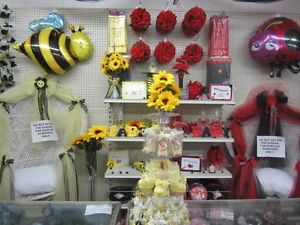 Bumble Bee and Lady Bug Baby Shower Party Supply Decoration Party Sets You Pick