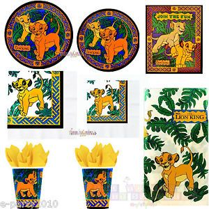 Lion King Jungle Friends Vintage Birthday Party Supplies Pick 1 or Create Set