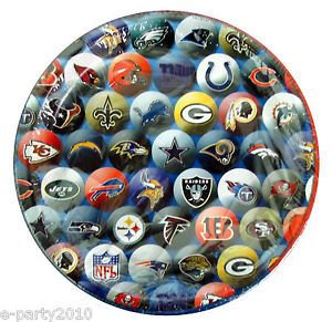 NFL Teams Cake Plates Official Football Party Supplies