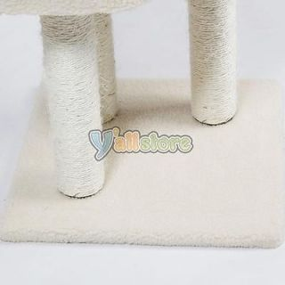"55"" Cat Tree House Toy Furniture with Condo Scratcher Posts BT 18010"
