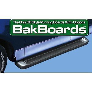 Bak Industries 870 Bakboards OE Style Universal Running Boards Ford Chevy