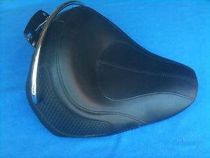 Genuine 2012 Harley Davidson Solo Seat Deluxe Softail Leather Heritage 2005 2013