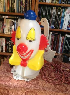Clown Head Ballon Helium Tank Top Vintage Clown Head New Listing OFFER