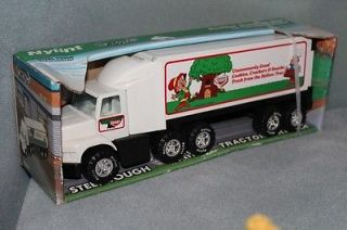 Nylint Keebler Elf Pressed Steel Truck Tractor Trailer Vintage 1989 New Elves
