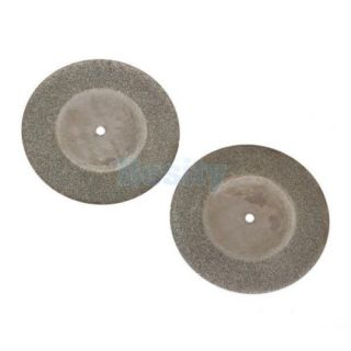 "8pcs 2"" inch 50mm Diamond Cutting Cut Off Disc Wheel Blade Rotary Tool w Arbor"