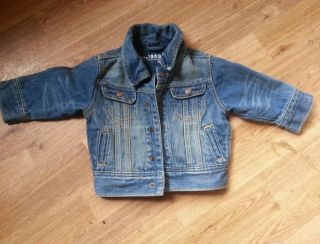 Baby Gap Denim Jean Jacket 18 24 Months Infant Toddler Boy Girl