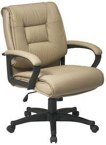 Glove Soft Leather Executive Computer Office Desk Chair