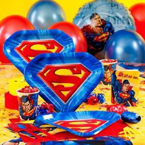 Superman Super Hero Birthday Party Supply Choices Choose Items You Need