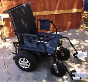 Electric Power Wheelchair Heavy Duty 600 lbs Overlander Lots of Big Power L K