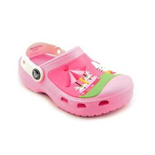 Crocs CC Hello Kitty Toddler Girls US Size 10 Pink Clogs Shoes