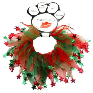 Party Christmas Stars Pet Dog Collar