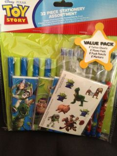 Disney Toy Story 32 Piece Value Party Favor Pack New