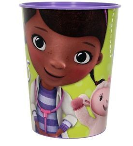 Disney Doc McStuffins 1 Plastic Cups 16 oz Birthday Party Supplies Tableware