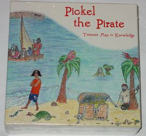 Pickel The Pirate Treasure Map Knowledge Game Educational New Factory SEALED Box