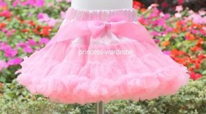 Baby Girls Light Pink Full Pettiskirt Skirt Dress Party Dance Tutu 1 8 Year