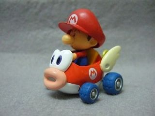 Japan Toy Wii Mario Kart Pull Back Car Play Set Baby Mario on Cheep