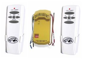 2 Hampton Bay Wireless Remote Fan Control w Receiver