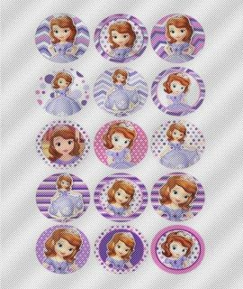 A469 Edible Icing Image Birthday Cake Cookie Cupcake Toppers Sofia The First