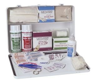New Large Vehicle First Aid Kit Filled Safety Prepared Medical Emergency Supply