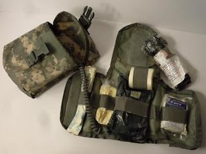 US Military Army Issue ACU IFAK Improved First Aid Kit MOLLE Medic Gear Expired