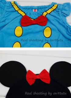 New Disney Romper with Hat Mickey Mouse Minnie Mouse Baby Boys Girls Clothes