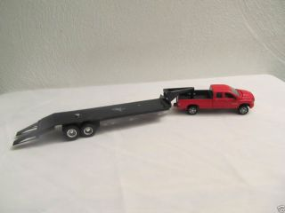 Custom 1 64th Gooseneck Flatbed Trailer